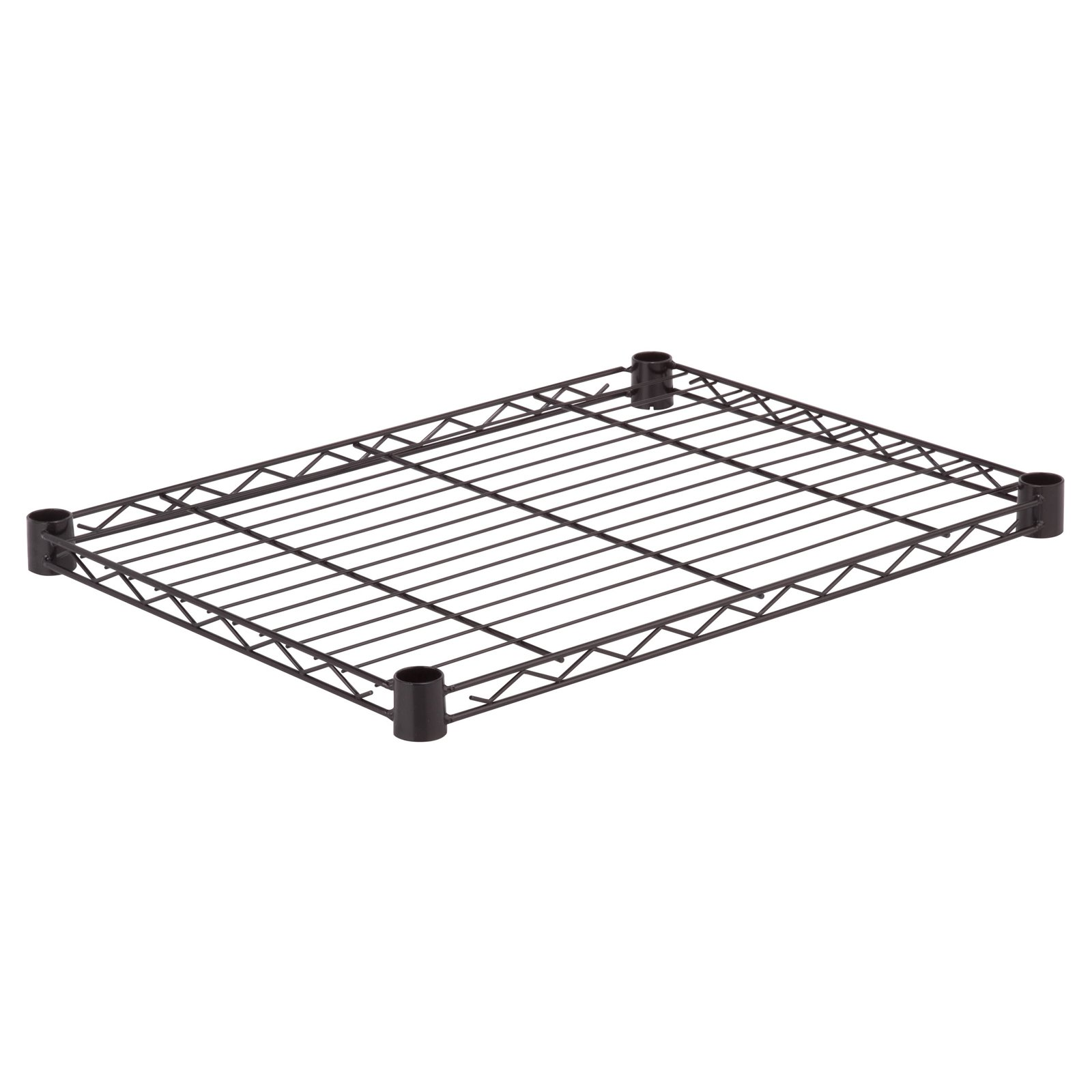 Honey Can Do Steel Wire Shelf with 250lb Capacity, Black