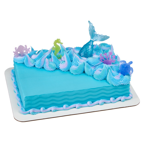Mystical Mermaid Cake Topper