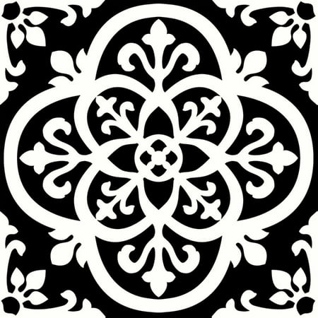 - FloorPops Gothic Peel & Stick Floor Tiles 10 Tiles/10 sq. ft.