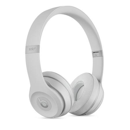 Beats Solo3 Wireless On-Ear Headphones - Matte nbsp Silver - Walmart.com 67a67a45a