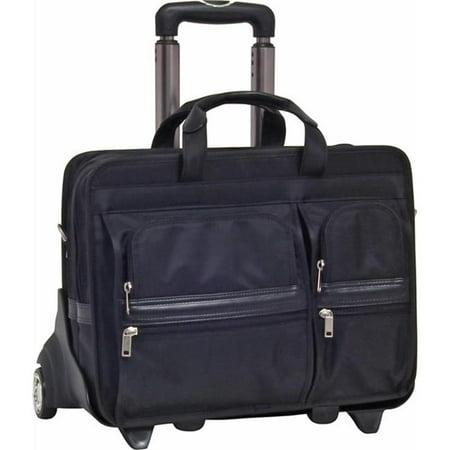 Nylon Wheeled Case (17 in. Clinton 2-in-1 Removable-Wheeled Nylon Laptop)