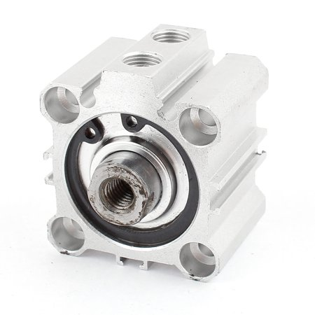 KCQ2B32-10 10mm Stroke 32mm Bore Aluminium Pneumatic Compact Air Cylinder - image 2 of 2