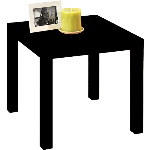 Parsons End Table, Black