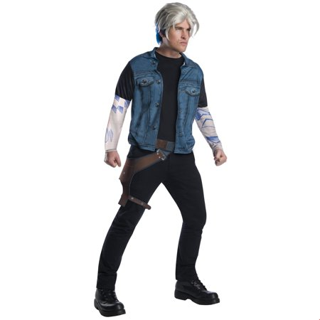 Ready Player One Mens Parzival Halloween Costume Kit - Football Player Costume Diy