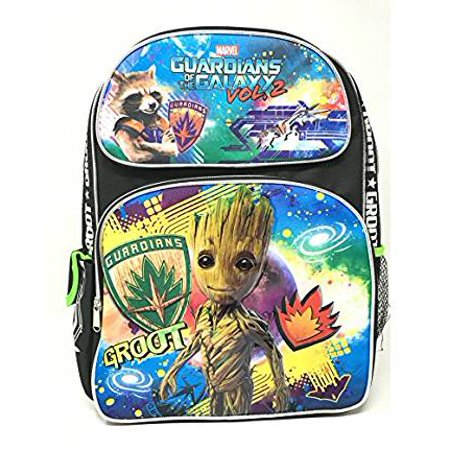 Backpack   Marvel   Guardians Of The Galaxy Vol 2 Groot Rocket 16   Bag 116408