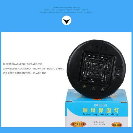 Farm Heater Animal Raise Livestock Warm Light Pets Heat Warm E27 Lamp Keep Warming Bulb Controller for Incubator Adjustable Temperature Preservation Light - image 2 de 7