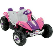Fisher Price Power Wheels Barbie Dune Racer Battery-Operated Ride-On