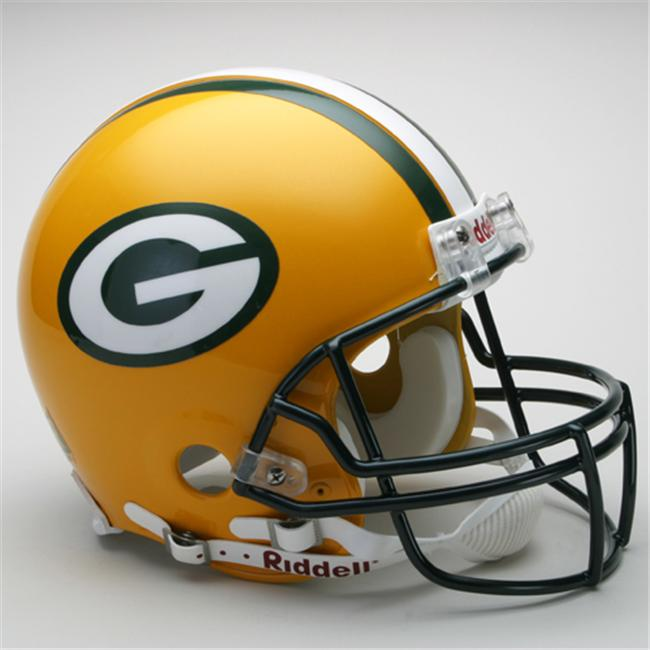 Creative Sports RD-PACKERS-A Green Bay Packers Riddell Full Size Authentic Proline Football Helmet