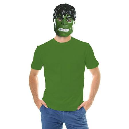Ben Cooper Hulk Mask Halloween Costume Accessory