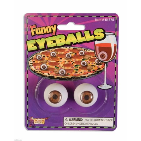 Realistic Eye Balls Gag Gift Funny Toy Prop Ball Eyes Eyeballs Joke Novelty Pair](Halloween Egg Eyeballs)