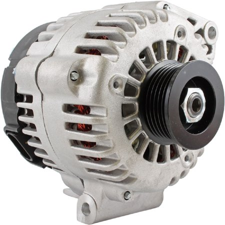 DB Electrical HO-8287-200 New Alternator -200 Amp for High Output 3.4 3.4L 3.8 3.8L Chevy Impala Monte Carlo 02 03 04 2002 2003 2004 90-01-4457 90-01-4457N 10442782 10327068 AL8791X 334-2526 8287 03 04 Chevy Impala Tail