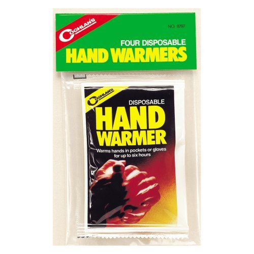 Coghlan's Disposable Hand Warmers, 4 Pack