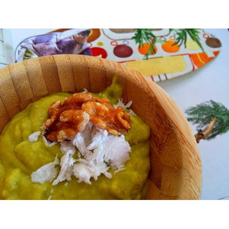 (LAMINATED POSTER Cream Avocado Blender Dessert Coconut Cream Mango Poster 24x36 Decal)