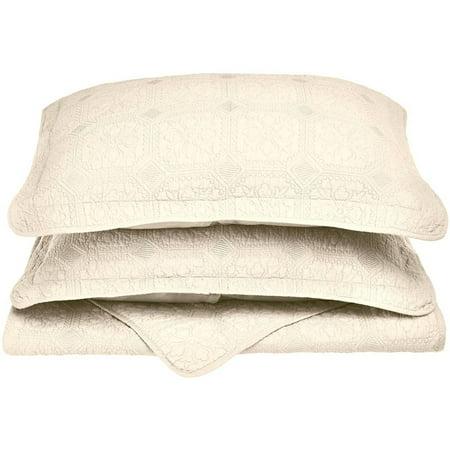 Superior Corrington Soft Cotton 3 Piece Quilt Set