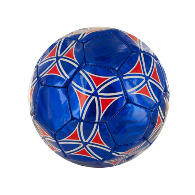 Bulk Buys OF282-4 Size 3 Laser Soccer Ball, 4 Piece
