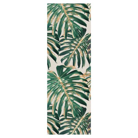 Masterpiece Art Gallery Tropic Patterns Panel II by Belle Maison Palm Tree Leaves Canvas Art Print 12