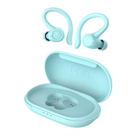 onn. True Wireless Sport Earphones, Aqua