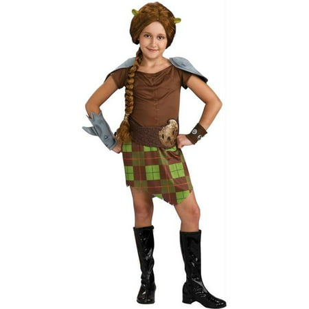 Costumes For All Occasions Ru884220Sm Shrek 4 Fiona Warrior Child - Halloween Shrek And Fiona