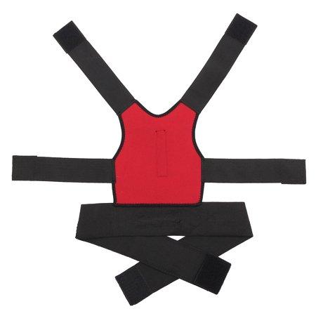 Men Women Adjustable Posture Corrector Lumbar Support Shoulder Back Brace Belt - image 10 de 12