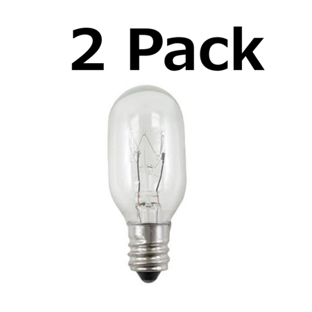 Make Up Mirror Light Bulb for Conair RP34B 20 Watt Bulb Lighted Incandescent Mirror 2 Pack