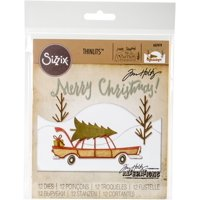 Sizzix Thinlits Die Set 12PK Home for the Holidays by Tim Holtz