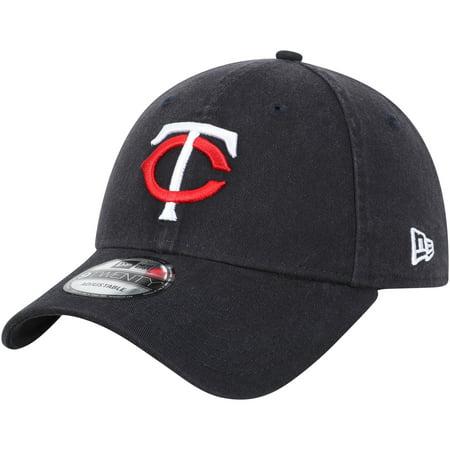 Minnesota Twins New Era Home Replica Core Classic 9TWENTY Adjustable Hat - Navy - OSFA