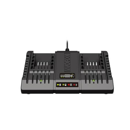WORX 20V & 18V Max-lithium Dual Port Battery