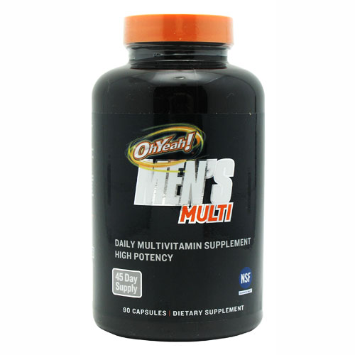 ISS Oh Yeah! Men's Multi Vitamin, 90 Count