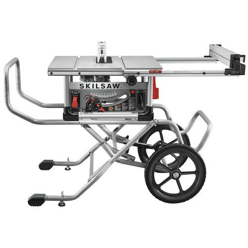 SKILSAW SPT99-12 10 in. Heavy Duty Worm Drive Table Saw with Stand by Skilsaw