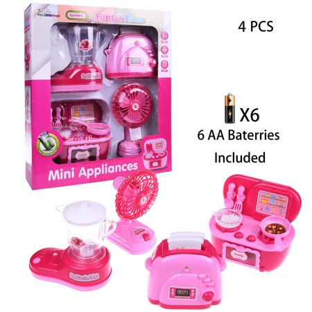 Home Appliances Pink Play set Kitchen Pretend Play Stove ...