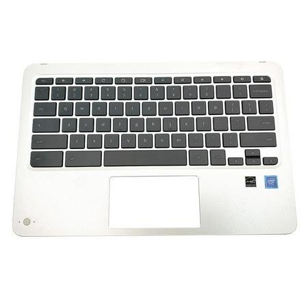 L00457-001 9Z.NE3SQ.001 HP Chromebook X360 11-AE091WM Keyboard Palmrest Assembly NO Touchpad Laptop Palmrest Touchpad Assembly