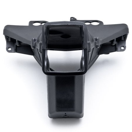 Black Upper Stay Bracket Ram Air Intake Duct for Kawasaki Ninja ZX-6R 2009-2012 NEW Black Upper Stay Bracket Ram Air Intake Duct - image 3 de 5