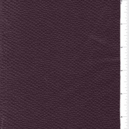 Grape Purple Dappled Satin Home Decorating Fabric, Fabric By the Yard