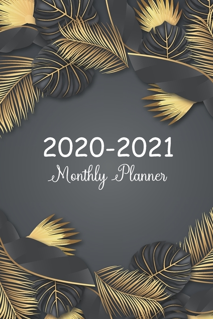 2020-2021 Daily Monthly Calendar Pocket Planner, 24 Months ...