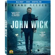 John Wick (Blu-ray + DVD + Digital HD) (With INSTAWATCH) (Widescreen) by