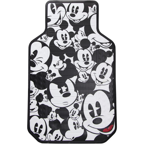 Disney Floor Mat (2) Mickey Mouse Expressions