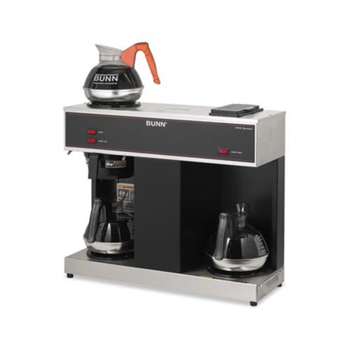 Bunn Coffee Pour-O-Matic Three-Burner Pour-Over Coffee Brewer BUNVPS