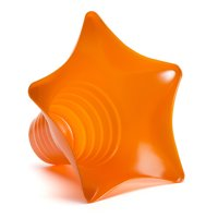 Shaved Ice Sno Cone Star Cups (6 OZ) 250 Count Orange