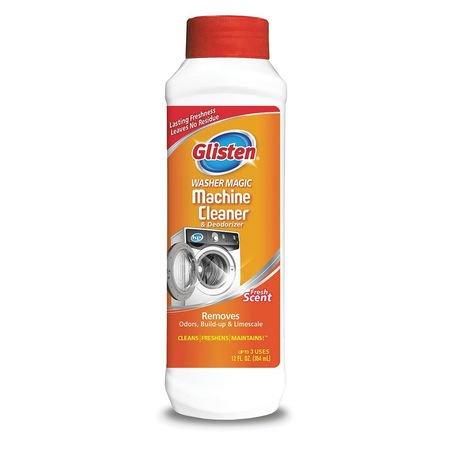 Glisten Washer Machine Cleaner, Fresh Scent, 12 Oz