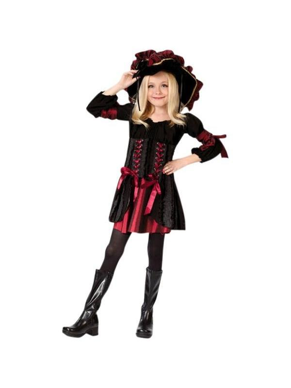 Child' Stitch Pirate Girl Costume by Fun World