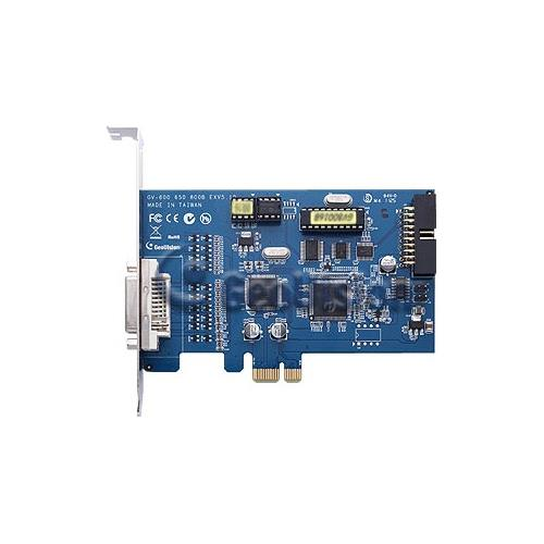 GeoVision GV-800B-8 8 Channel DVR Video Capture Card DVI PCI Express Card Audio 8.55/120fps