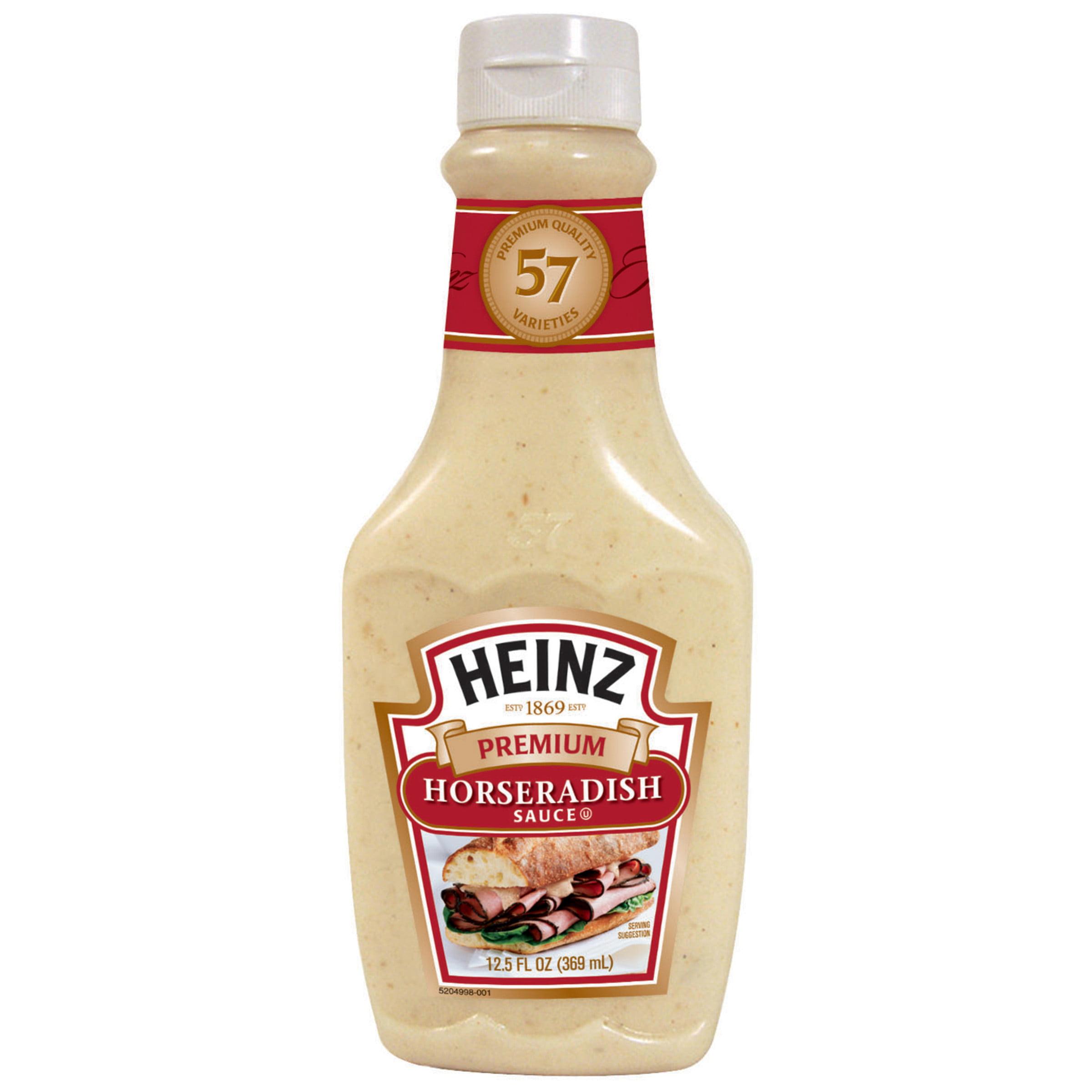 Heinz Premium Horseradish Sauce 12 5 Oz Bottle Walmart Com Walmart Com