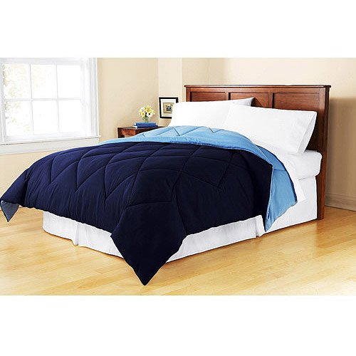Mainstays Twin or Twin XL Reversible Comforter, 1 Each
