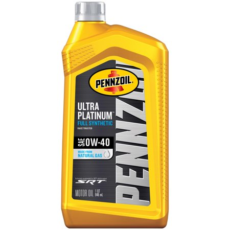 Pennzoil Ultra Platinum 0W-40 Full Synthetic Motor Oil, 1 Quart