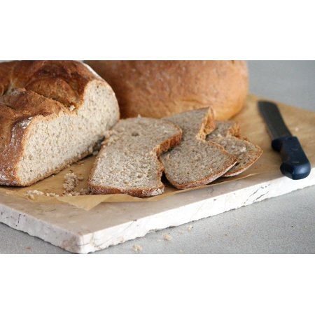 LAMINATED POSTER Frisch Baker Knife Finish Bread Cut Crispy Baked Poster Print 24 x 36