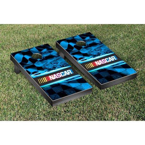 Victory Tailgate NASCAR Race Track Version 1 Cornhole Game Set