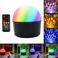 Fysho LED Disco Ball Light With Bluetooth Speaker Function For Wedding Party Bar Club DJ KTV Dance Hall (With Remote)