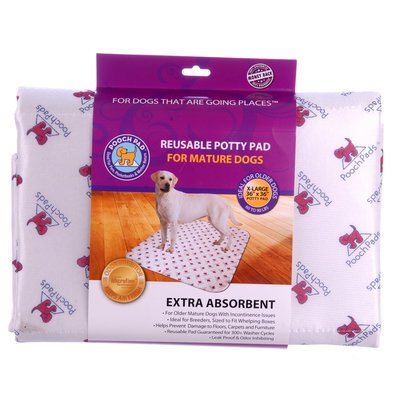 Extra Absorbency PoochPad for Mature Dogs Extra Absorbency PoochPad X