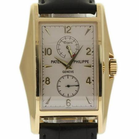 Patek Philippe Gondolo 5100J-00 Gold Watch (Certified Authentic & Warranty)