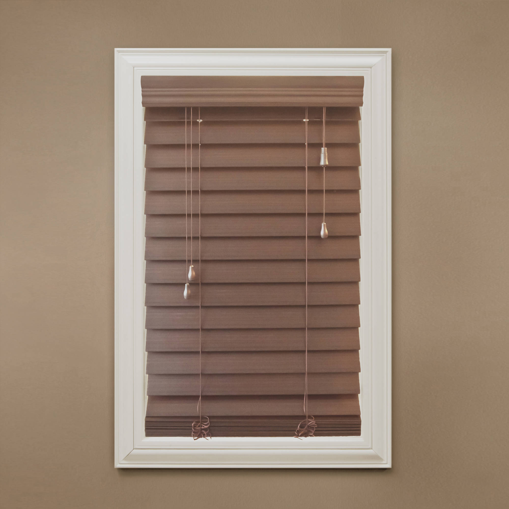 Richfield Studio 2 5 Faux Wood Blinds Width 10 40 5 Length 48 Walmart Com